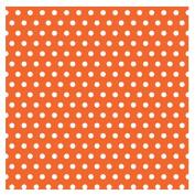 Orange with Polka Dot Jumbo Gift Wrap