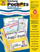 EVAN-MOOR EMC3708 HISTORY POCKETS EXPLORERS OF NORTH-AMERICA
