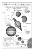 Lorenz Corporation TLC10495 Planets of Our Solar System Poster Paper- Grade 3-6