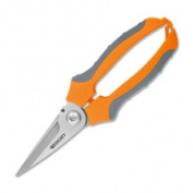 Acme United Corporation ACM47217 Utility Snips 17.8cm .- 1-.190.5cm . Cut- Stainless Steel- Orange Handles