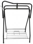 Partrade Standing Saddle Rack Black 30 Inch - 248031\106898