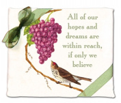 Alices Cottage AC34432 Bird with Grapes Flour Sack Towel-set of 2