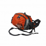 Blancho Bedding WKN004-ORANGERED Sunny Beach Multi-Purposes Fanny Waist Pack / Back Pack / Travel Lumbar Pack