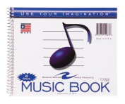 Roaring Spring Paper Products 15063 Music Notebook - 24 Sheets Per Book