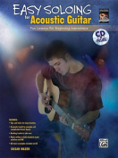 Alfred 00-28249 Easy Soloing for Acoustic Guitar - Music Book