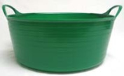 15 Litre Tubtrugs Small Shallow - Green - SP15G