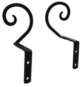 Village Wrought Iron CUR-S-103 Scroll Swags