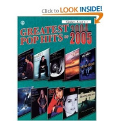 Alfred 00-IFM0502 Greatest Pop Hits of 2004-2005 - Music Book