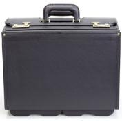 Korchmar Leather 50cm . Vinyl Wheeled Catalogue Case