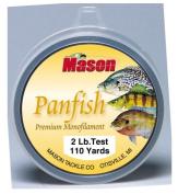 Mason Tackle Company PFL-110-2 Panfish Premium Monofilament - 0.9kg.