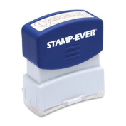 Stamp-Ever Pre-Inked Message Stamp, Cancelled, Stamp Impression Size