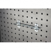 Triton Products 56660 8.13 In. W with .75 In. I.D. Zinc Plated Steel Multi-Prong Tool Holder for LocBoard