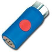 Prevost PRVURC061201 Coupler Red Button .63.5cm Fem Use with Mil783 Plug
