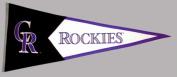 Colorado Rockies Official MLB 100cm x 43cm Wool Classic Pennant by Winning Streak