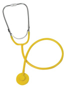 Mabis 10-449-130 Dispose-A-Scope with Chrome Binaural - Yellow - Case of 50