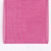 Papilion R072070230156100Y .88 in. Sheer Chiffon Ribbon 100 Yards - Hot Pink