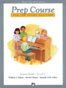 Alfred 00-6292 Basic Piano Prep Course- Lesson Book F - Music Book