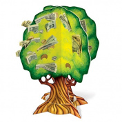 Beistle 57342 3D Money Tree Decoration