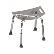 Drive Medical Gray Aluminum Bath Bench with Carry Bag - Standard