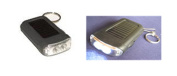 Garden Sun Light GSL-S040 Mini 2 LED Solar Flash light with Key Chain