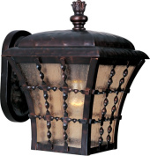 Maxim Lighting 30492ASOI Orleans 1 Light Outdoor Wall Lantern in Oil Rubbed Bronze
