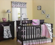 New Country Home 4705-P-A Versailles Pink Crib 10 piece set