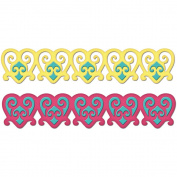 Spellbinders Petite Borderabilities Dies, 14cm , Renaissance Hearts