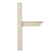 A & M Hardware AMEC24 W Extend Concealed Shelf Sprt Bkt 61cm . - White
