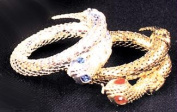 Costumes For All Occasions Bb191Sv Bracelet Snake Silver