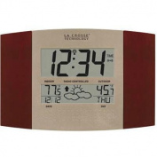 La Crosse Technology WS-8157U-CH-IT LC Atomic Digital Wall Clock