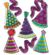 Jolees 394865 Jolees Boutique Dimensional Stickers-Party Hats