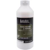Liquitex Gloss Acrylic Fluid Medium & Varnish-470ml