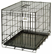 Miller Manufacturing Pet Crate , Wire, Small, Black
