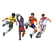 Beistle Company 22051 Soccer Cutouts 20 4 count