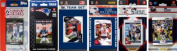 C & I Collectables PATRIOTS612TS NFL New England Patriots 6 Different Licenced Trading Card Team Sets