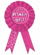 Beistle - 60417 - Birthday Girl Award Ribbon - Pack of 6