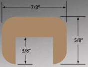 SeaTeak 60841 Cap Moulding .160cm .x .220cm .Small