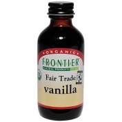 Frontier Vanilla Extract Fair Trade Certified & Organic, 60ml Bottle