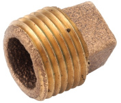 Anderson Metals 738109-16 2.5cm . Brass Low Lead Pipe Plug