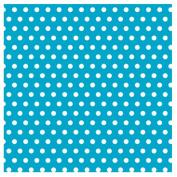 Caribbean with Jumbo Polka Dots Gift Wrap 4.9m