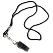 Tandem Sport TSWHISTLE Pea-Less Whistle And Lanyard