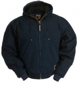 Berne Apparel HJ375MDR440 44/Large Original Washed Hooded Jacket - Quilt Lined Regular - Midnight