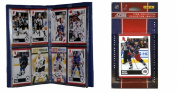 C & I Collectables 2010JACKETSTS NHL Columbus Blue Jackets Licenced 2010 Score Team Set and Storage Album