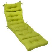 Greendale Home Fashions OC4804-KiWI 72 in. Outdoor Chaise Lounger Cushion Kiwi