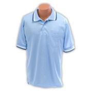 Ssg - Bsn LBUMPXXX Umpire Shirt Light Blue 3XL Baseball-Softball Clothing
