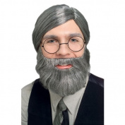 Rubies Costumes 198140 Short White Beard and Moustache Adult