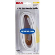 RCA 3.7m RG-6 Digital Coaxial Cable With Gold Plated F Connectors
