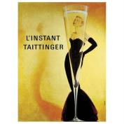 """Trademark Fine Art 90cm x 120cm """"Taittinger on Canvas"""" by Unknown Artist"""