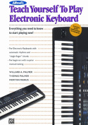 Alfred 00-2120 Teach Yourself to Play Electronic Keyboard - Music Book