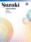 Alfred 00-30725 Suzuki Violin School Violin Part& CD- Volume 4 - Music Book